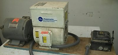 Phase Converter - Kay Industries MA-0  Phase Converter & Motor 3ph & Disconnect