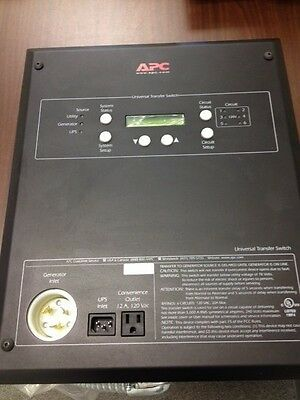 APC Universal Transfer Switch