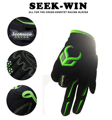 Full Finger Cycling Bicycle Ladies Gloves Mens Bike Gel Silicone Unisex Sports