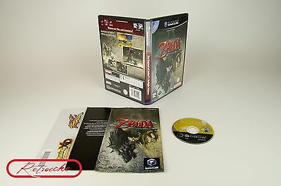 Nintendo Gamecube *The Legend of Zelda: Twilight Princess* OVP mit Anleitung