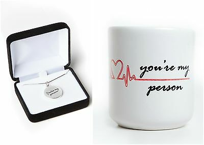 """""""You're My Person"""" Gift Set, inspired by Grey's Anatomy"""