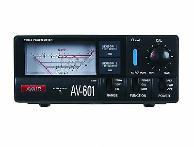 AV601 Avair VSWR + Power Meter 1.8MHz to 525MHz UHF/VHF HAM/Amateur Radio
