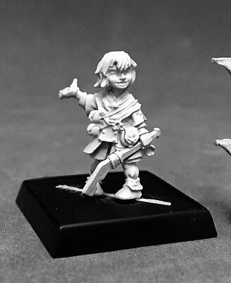 Yoon Iconic Kineticist Reaper Miniatures Pathfinder Child Caster Wizard Mage