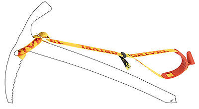 Grivel Ice Axe Long Leash Mens Unisex Backcountry Touring New 2015