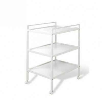 GEUTHER Table  A Langer Héloise Blanche 1 Plan + 2 Etageres