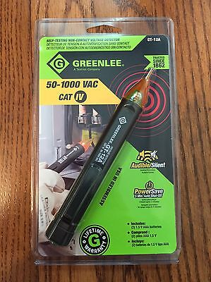 GREENLEE GT-12A Non-Contact Voltage Detector 50-1000AC CAT IV