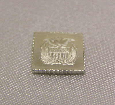 Solid Silver Stamp Usa 1869 30-Cent 1869 Shield Eagle And Flag United States