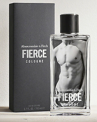 ABERCROMBIE & FITCH FIERCE 6.7 oz / 200 ml Cologne Spray Men NEW IN BOX SEALED