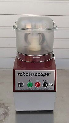 Robot Coupe R2NCLR Combination Continuous Feed Food Processor 3 Qt.