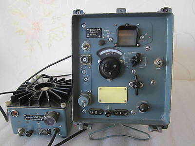 Russian  military R-323 Receiver with Powe Supply.  USSR .