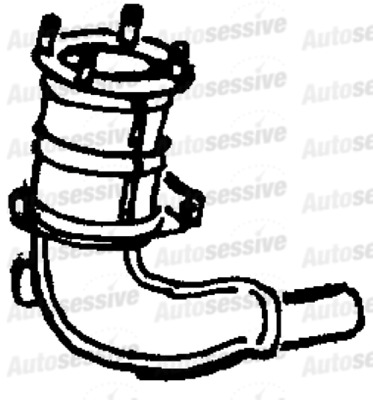 Ford Escort Mk7 1 6 Catalytic Converter Front 95 To 99 Manual