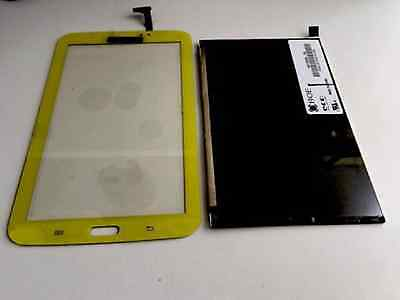 Genuine LCD Touch Screen Set Yellow for Samsung Galaxy Tab 3 7.0 SM-T2105 Kids