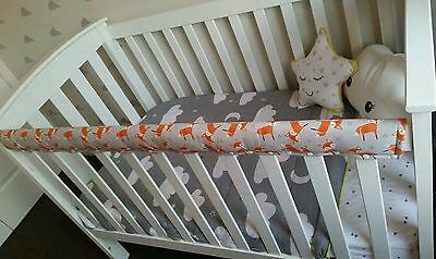 Custom Cot Rail Protector, Cot rail guard, Crib Guard, cot teething guard