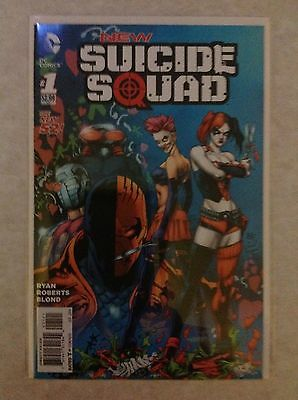 New Suicide Squad #1 (DC 52, Harley Quinn) RARE Variant Edition, First Print