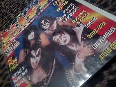 Kiss Official Alive Worldwide 96/97 Tour Magazine