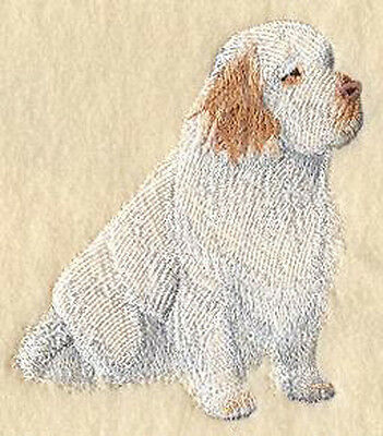 Clumber Spaniel full body Embroidery Patch Large Size
