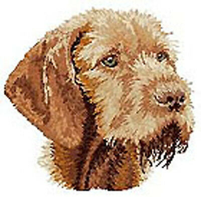 Vizsla Wire-haired Embroidery Patch  b
