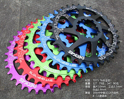 Bicycle Narrow Wide Direct Mount Sram GXP Crankset Chainring for XX1 X1 X9 GX