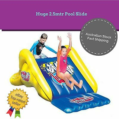 2.5 Meter Water Slide Pool Party Inflatable Hose Spray Attachment Kids Outdoor