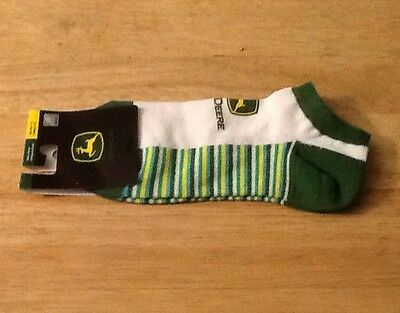 John Deere ladies ankle socks NEW w/ tags Free shipping Size 4-10