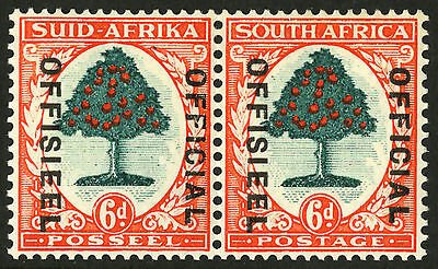 South Africa  1935-50  Scott # O 30  Mint Very Lightly Hinged