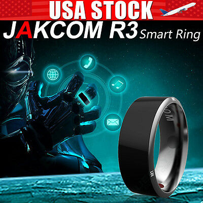 US Waterproof NFC Smart Ring Jakcom R3 12# For Electronic Android Smartphone