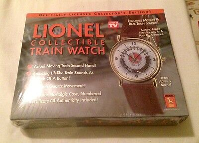 NEW Lionel Collectible Train Watch