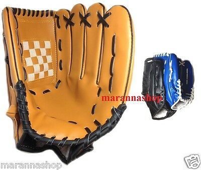 Glove Da Baseball Leather Synthetic With Ball Softball Mano Left