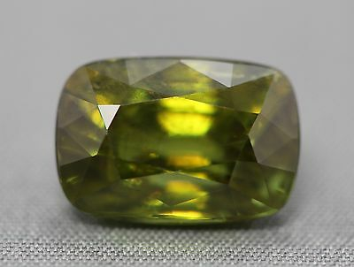 Natural titanite sphene.