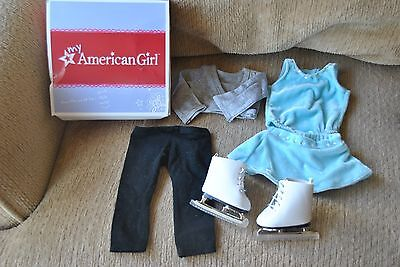 American Girl 2 In 1 Skating Outfit Mia,McKenna,Julie, Kit, Grace, Retired