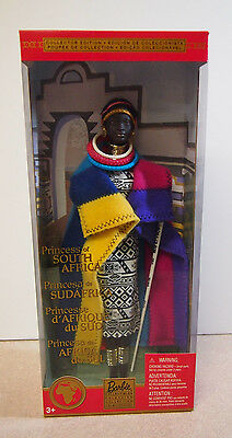 Princess of South Africa Barbie Dolls of the World Collection 2002 56218