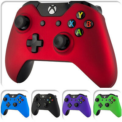 Soft Touch Front Shell Case Cover Faceplate for Microsoft Xbox One Controller