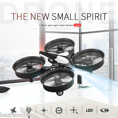 JJRC H36 Mini 2.4GHz 4CH 6 Axis Gyro RC Quadcopter Headless Mode / Speed Switch