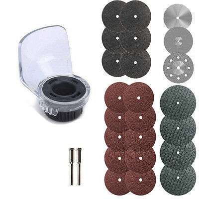A550 Rotary Tool Attachment Accessories Sets For Drill Dremel Grinder Cover Case
