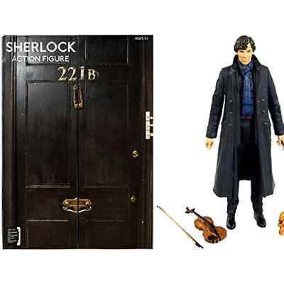 Sherlock Toy Action Figure Underground Toys Portable 5 Inch Scale Five Panel Box