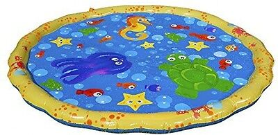 Splash Play Mat Baby Infant Kinds Outdoor Grass Yard Play Water Pool Fun New