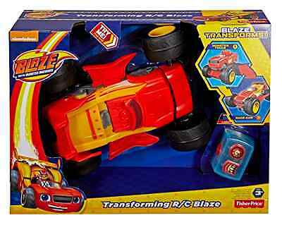 Blaze and the Monster Machines Transforming Fisher Price Remote Control Kids Toy