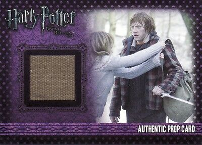 Harry Potter & the Deathly Hallows Part 1 Ron's Rucksack P8 Prop Card