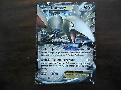 Pokemon trading card SKARMORY EX 80/146.  Very good used condition