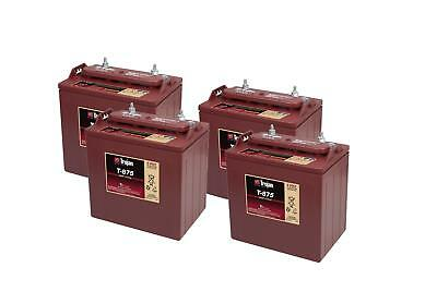 4x T-875 Trojan Battery Deep Cycling (T875) 8V 170Ah - 2 Years Warranty