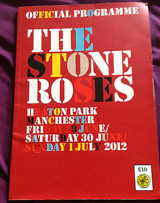 The Stone Roses - NME 2011/12 + Heaton Park Official Programme - Collectors Item