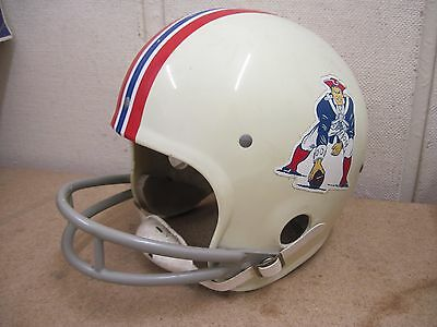 Vintage Rawlings New England Patriots Noodle American Football Helmet Size Large