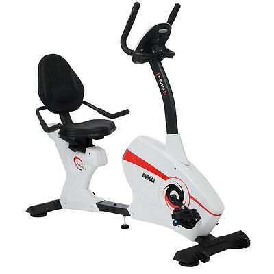 Velo D'appartement Semi-Allonge Couche R6800-I Hms Exercice Fitness Console Gym