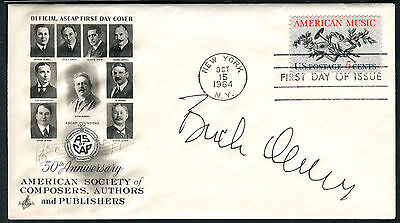 Buck Owens signed 1964 FDC