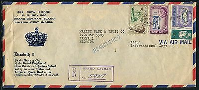 Cayman Is 1965 illustrated Hotel cover to USA