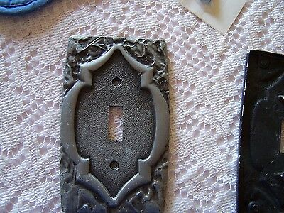 AMEROCK CARRIAGE HOUSE  Pewter Monterey Light Switch Cover Plate #3