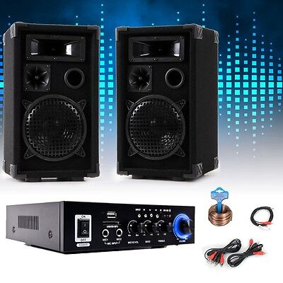 PA party music system boxes karaoke amplifier Bluetooth USB SD MP3 DJ-Party 9