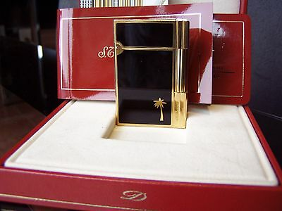 """S.T.DUPONT  GATSBY China-Lack-Schwarz """"SONDERMODELL"""" 56x37x11 mm in OVP """"TOP"""""""