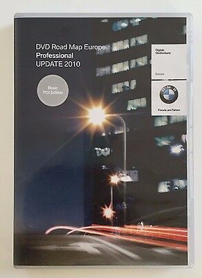 CD GPS : DVD Road Map Europe Professional UPDATE 2010 BMW NAVIGATION