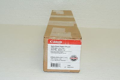 """Canon 2047V122 Satin Photographic Paper, 24""""x100' Roll Size, 7mil Thickness"""